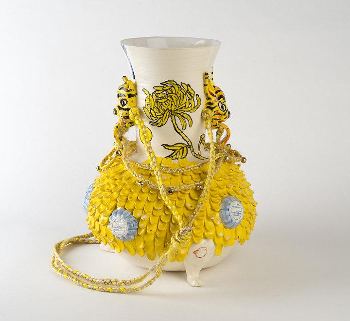 Yellow Chrysanthemum Gook